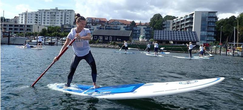 SUPaarhus flytter ind i Aarhus Internationale Sejlsportscenter