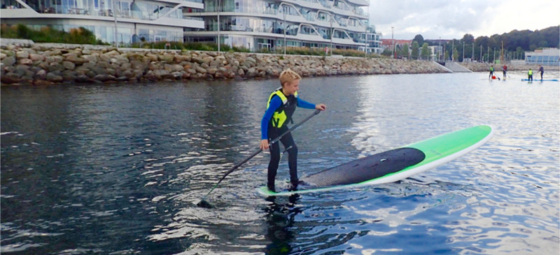 SUPaarhus starter Ungdomsafdeling for Stand Up Paddling i Aarhus Internationale Sejlsportscenter